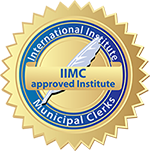 International Institute Municipal Clerks, IIMC approved institute emblem