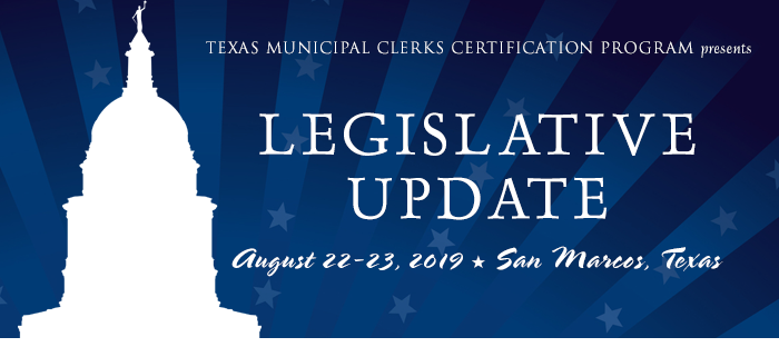 TMCCP Legislative Update Seminar